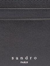 Smooth Leather Card Holder : Card Holders & Wallets color Black