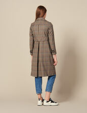 Checked trench coat : Copy of VP-FR-FSelection-Blousons&Manteaux color Multi-Color