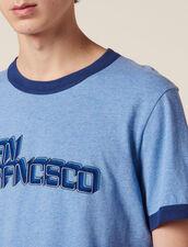 Slogan T-Shirt : LastChance-FR-H40 color Sky Blue