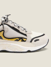 Flame trainers : All Shoes color yellow python