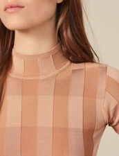 Short-Sleeved Funnel Neck Sweater : FBlackFriday-FR-FSelection-50 color Nude