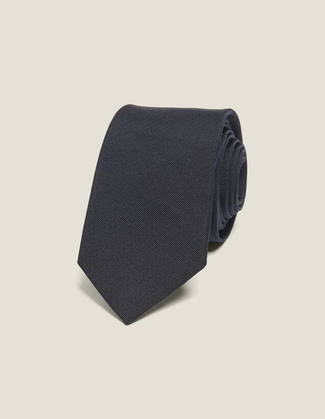 Classic silk twill tie : Ties & Bow Ties color Navy Blue