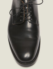 Leather Derby shoe : All Winter collection color Black