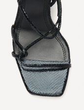 Sandals with narrow straps : All Shoes color Black