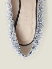 Heeled Shoes With V-Shaped Front : New In color Silver