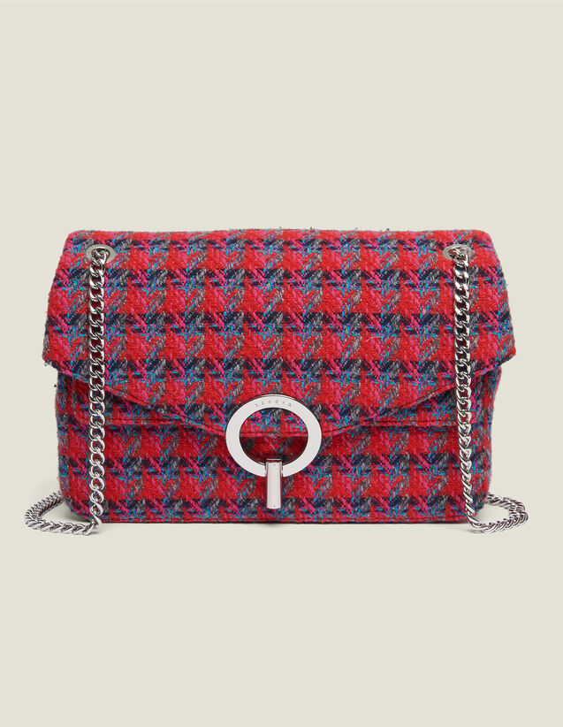 Yza tweed bag : All Winter collection color Red