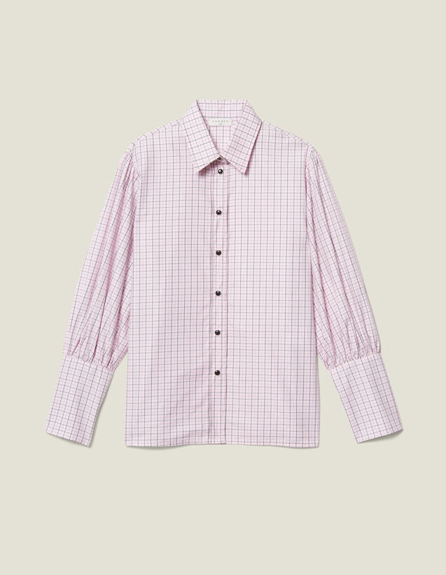 Mini Check Poplin Shirt : FBlackFriday-FR-FSelection-30 color Pink