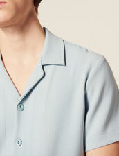 Striped Jersey Shirt : Sélection Last Chance color Sky Blue
