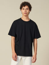 Cotton T-Shirt : Winter Collection color Black
