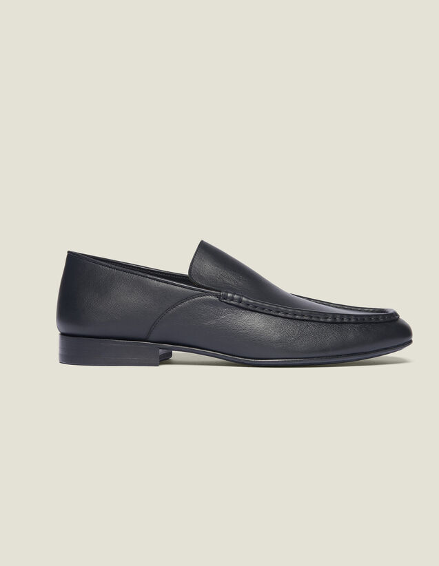 Leather Loafer : All Selection color Black