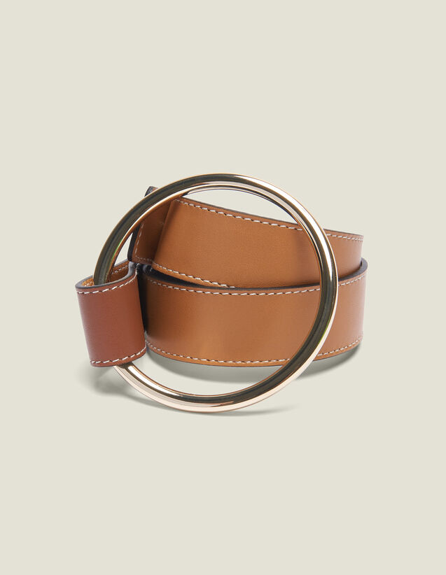 Belt With Ring Fastening : All Selection color Camel