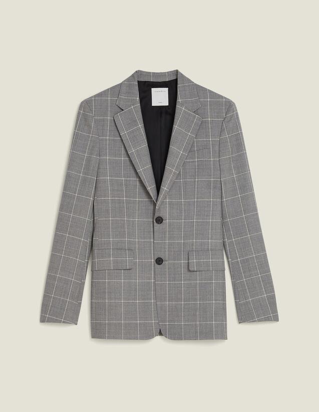 Classic Super 120 Suit Jacket : All Selection color Light Grey