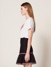 Short Skirt With Ruffles : LastChance-FR-FSelection color Black