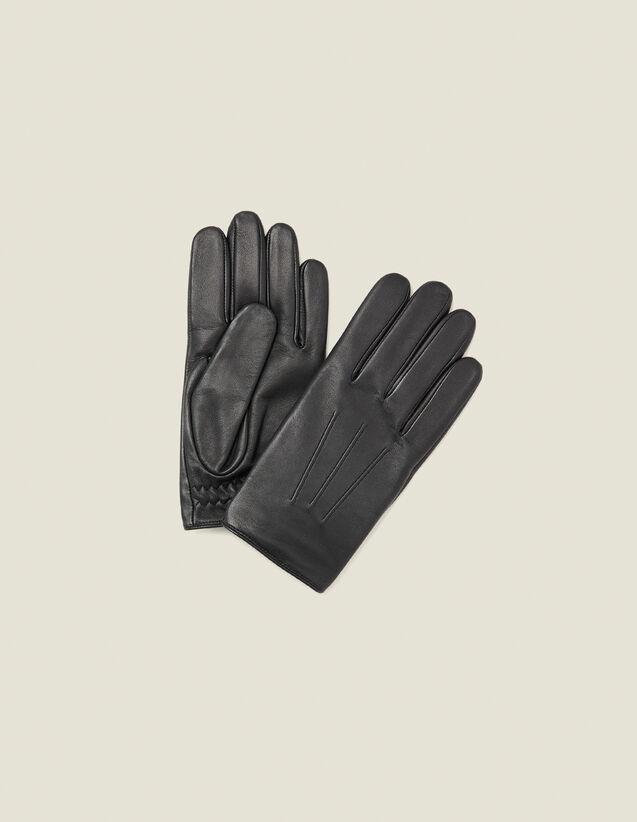 Leather gloves : LastChance-IT-H30 color Black