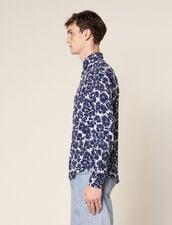 Flower Shirt : Sélection Last Chance color Navy Blue