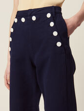 Sailor Trousers : All Selection color Navy Blue