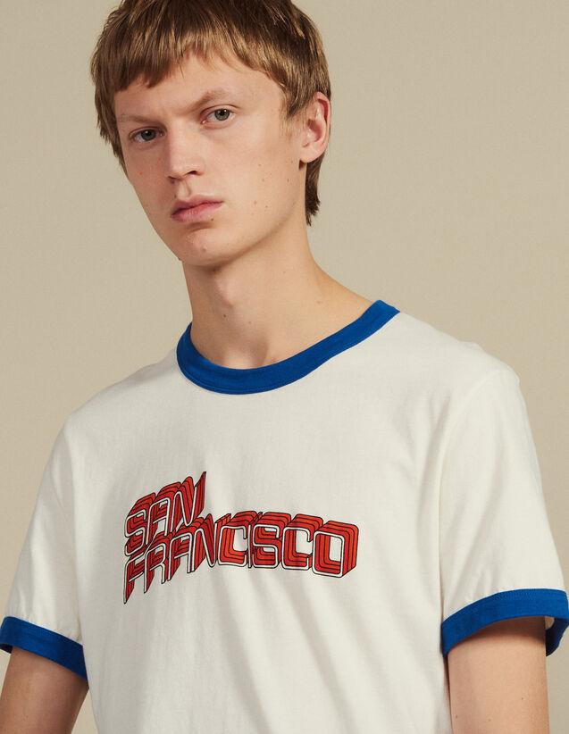 Slogan T-Shirt : T-shirts & Polo shirts color white