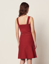 Knit Dress With Straps : All Selection color Terracotta
