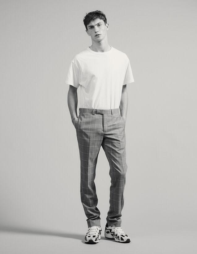 Classic Super 120 Suit Trousers : Suits & Tuxedos color Light Grey