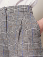 Checked Shorts : All Selection color Grey