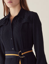 Long Shirt Dress : All Selection color Navy Blue
