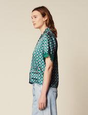 Printed Pyjama Shirt : All Selection color Green