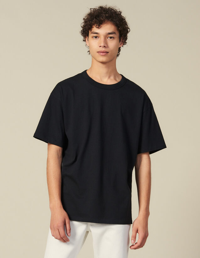 Cotton T-Shirt : All Winter collection color Black
