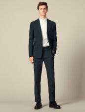 Suit trousers : LastChance-IT-H50 color Dark green