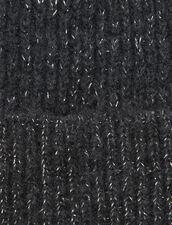 Lurex Beanie : Gloves & Hats color Dark Grey