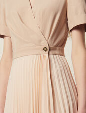 2-In-1 Wrap Dress : Dresses color Nude