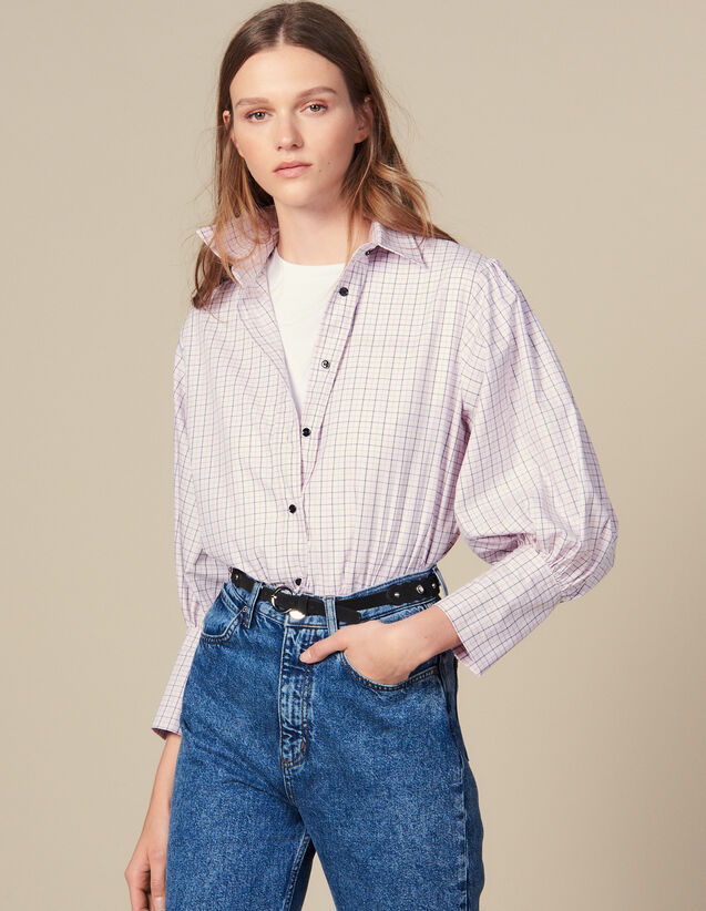Mini Check Poplin Shirt : FBlackFriday-FR-FSelection-30 color Pink