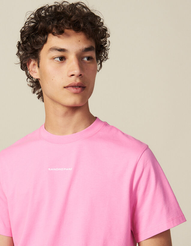 Cotton T-shirt : All Winter collection color Pink