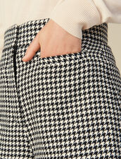 Matching Houndstooth Check Shorts : Skirts & Shorts color Black