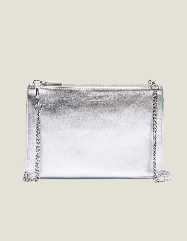 Addict Pouch : All Winter collection color silver
