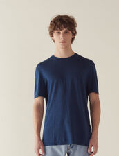 Linen T-Shirt : T-shirts & Polo shirts color Ink