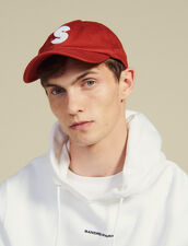 Cap With S Patch : Sélection Last Chance color Red