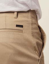 Straight-Leg Chino Trousers : LastChance-RE-HSelection-Pap&Access color Beige