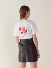 A-Line Leather Skirt : LastChance-FR-FSelection color Black