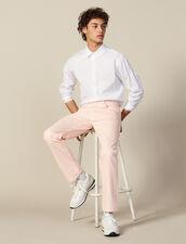 Regular Pink Jeans : Jeans color Pink