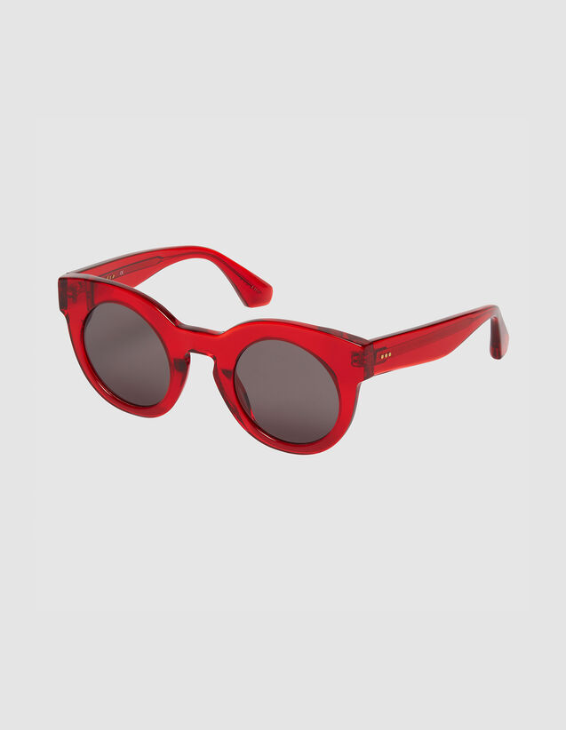 Oversized round sunglasses : Copy of VP-FR-FSelection-ACCESS color Red