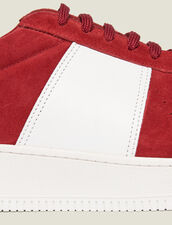 Leather Trainers : Sélection Last Chance color Red