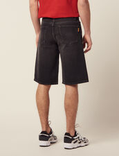Denim Bermuda Shorts : Sélection Last Chance color Black