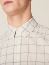 Fine Cotton Shirt : All selection color Ecru