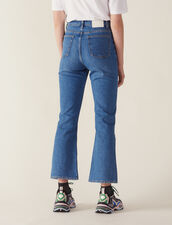 Flared Jeans : null color Black