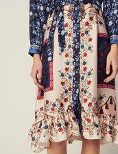 Shirt Dress In A Mixture Of Prints : Dresses color Multi-Color