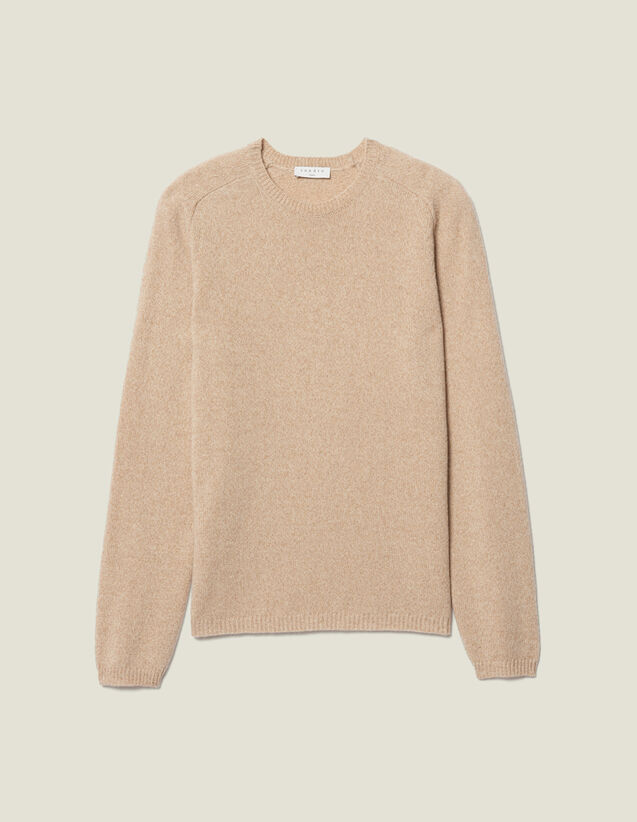 Marled Raglan Sweater : Sweaters & Cardigans color Camel