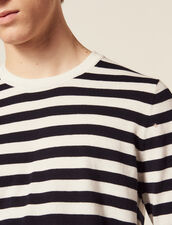 Breton Sweater In Cotton And Cashmere : All Ready-to-wear color Ecru