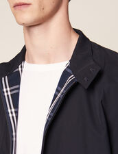 Oversized Harrington-Style Jacket : Sélection Last Chance color Navy Blue