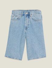 Denim Bermuda Shorts : Sélection Last Chance color Blue Vintage - Denim