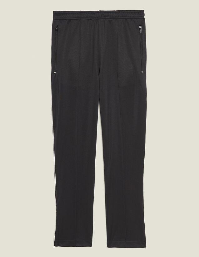 Track Pant Style Jogging Bottoms : Sélection Last Chance color Black